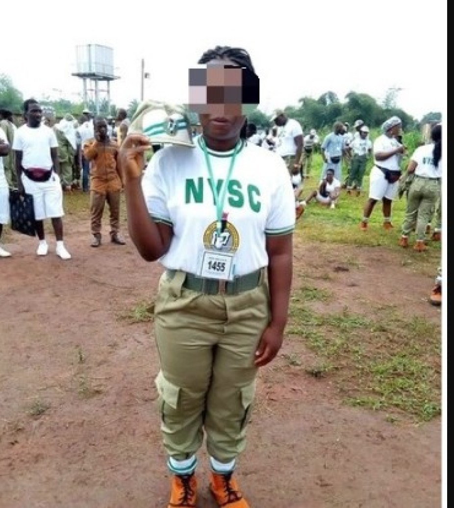 Ah! See What A New NYSC Member Wrote About Herself