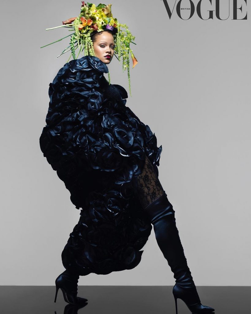 Rihanna Makes History With British Vogue September Issue Cover