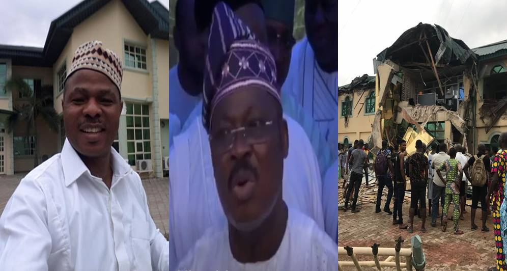 VIDEO: Governor Ajimobi Confirms Giving The Order To Demolish Yinka Ayefele's Music House