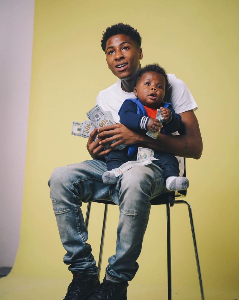 18 Year Old U.S Rapper NBA Youngboy, Proudly Reveals He's Expecting His 5th Child From His 4th Baby Mama