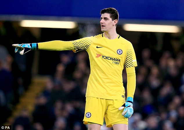 Real Madrid confirm signing of Thibaut Courtois for £35m