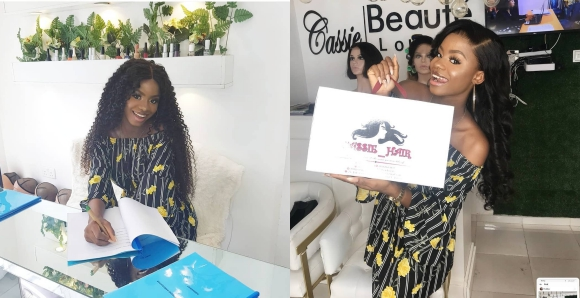 Iyabo Ojo's Daughter, Priscilla Becomes Brand Ambassador For Cassie Hair