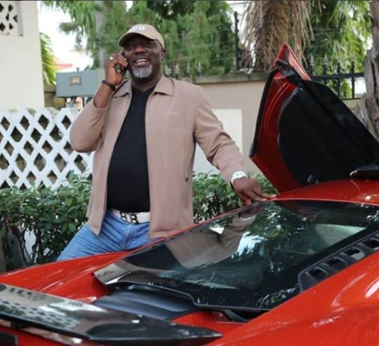 SHOCKING! Senator Dino Melaye Was Seen Hiding In The Bush Again After Failing to Appear In Court (Photo)