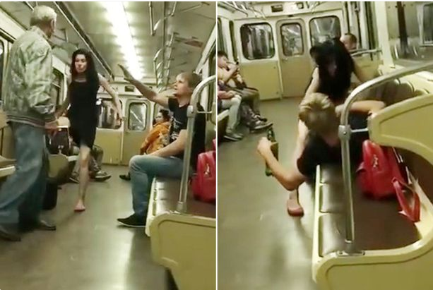 If You Can't Beat Them, Join Them! See What This Old Man Did To Couple Having Sex On A Train (Photos)