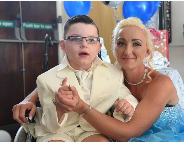 Internet Goes Gaga As 7-Year-Old Boy Marries His Mother… See Photos From Lavish Wedding