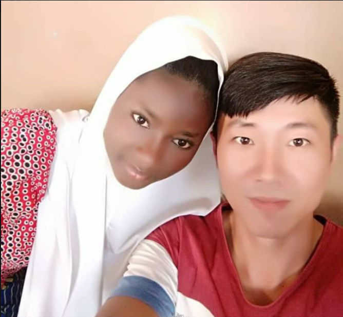 Chinese Man Accepts And Marries Muslim Nigerian Girl (Photos)