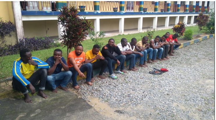 Dreaded Wanted Cultists Disturbing Nigeria Apprehended (Photos)