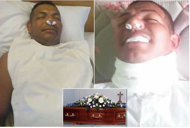 Since His Wife Will Not Stop Asking For Money, Man Fakes Death Then This Happened (Graphic Photos)