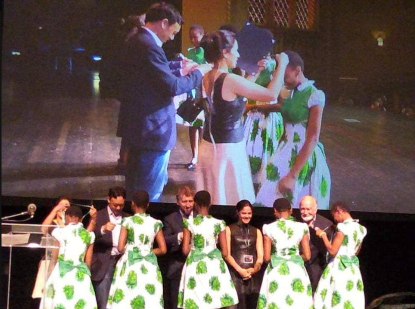 #TeamSaveASoul!! Nigerian Schoolgirls Sets Record at International Mobile App Competition In US (Photos)