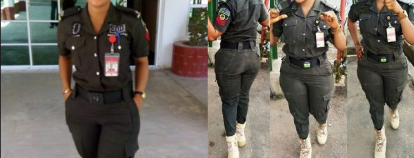 A 24-year Old Lady Displayed Uncanny Courage By Slapping A Female Senior Police Officer (Must See)