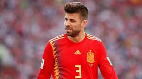 Barcelona Star, Gerard Pique Quits Spanish National Team