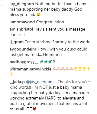 'I'm not just Wizkid's baby mama, I'm also his hardworking manager' – Jada Pollock