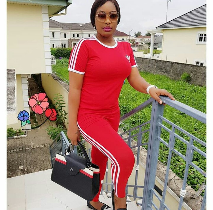 Nollywood Actress Nuella Njubigbo Steps Out Looking Chic (Photos)