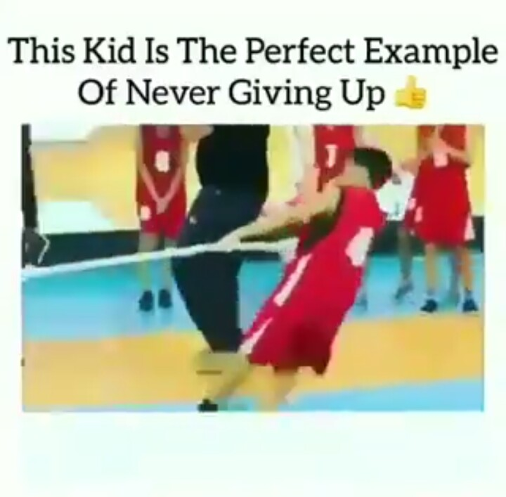 This Kid Is The Perfect Example Of Never Giving Up (Watch Video)