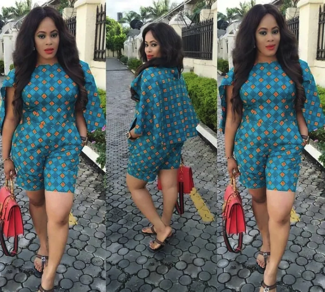 Ladies, See Trendy and Bright Ankara Jumpsuit Styles For Plus Size Ladies
