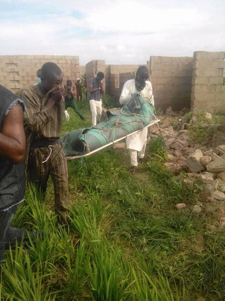 END TIME! After Using Him, See What Ritualists Did To Body Of A Young Man In Uncompleted Building (Photos)