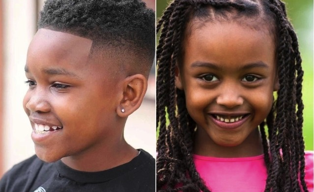 Most Amazing Natural Hairstyles For Your Little Boys And Girls (Photos)