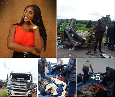 Newly Engaged Lady Dies In Ghastly Accident Days After Posting This About Nigeria (Photos)