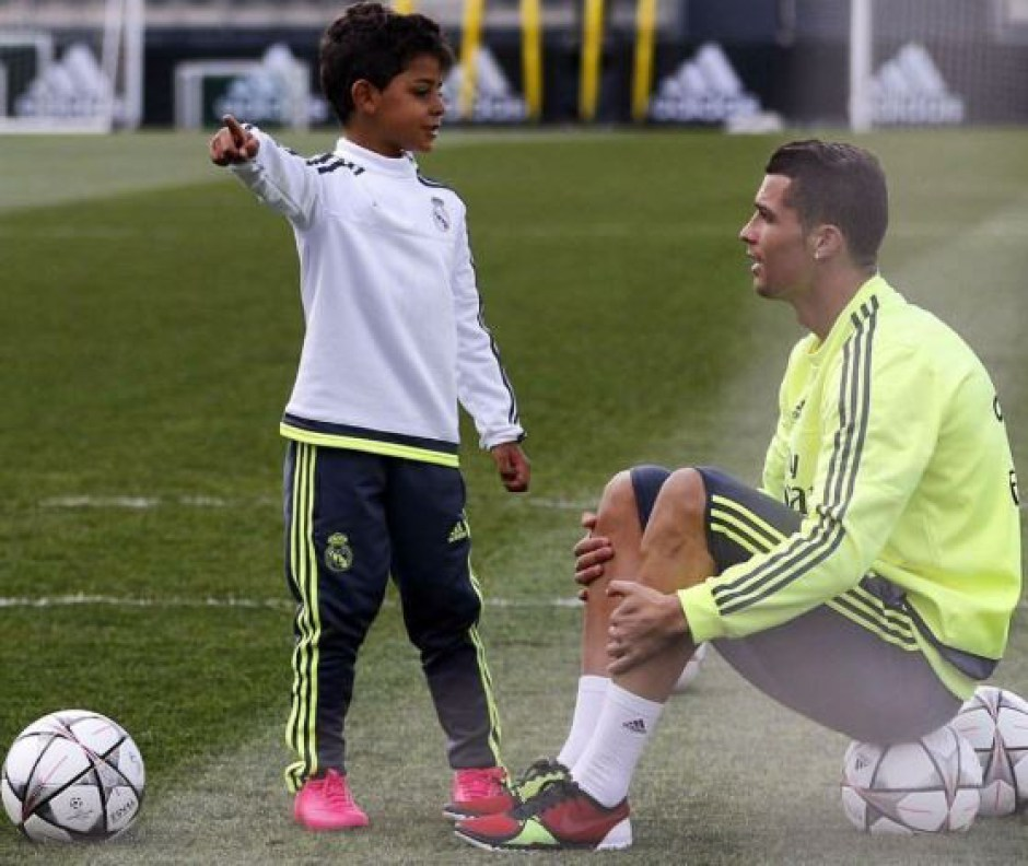 Cristiano Ronaldo's First Son Officially Joins Juventus Youth Academy (Photo)