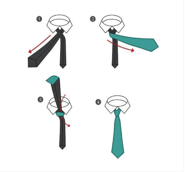 10 Simple Ways On How To Knot A Tie Step By Step (Photos)