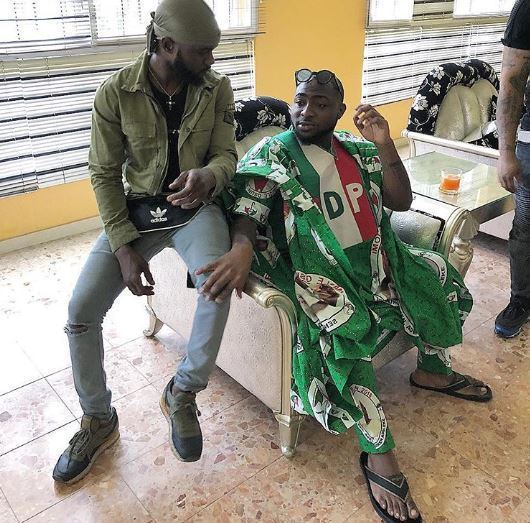 Davido Says APC is planning to rig re-run election; APC Responds