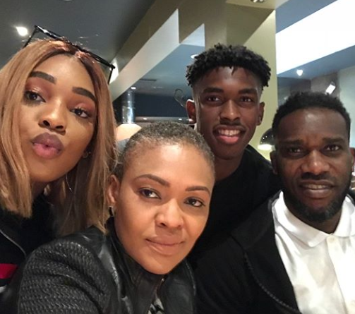Lovely New Photos Of Jayjay Okocha, His Wife And Their Children