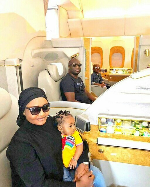 Mompha Shares Tickets Photos Online To Show Everyone That He Flew First Class To India With Wife And Kids