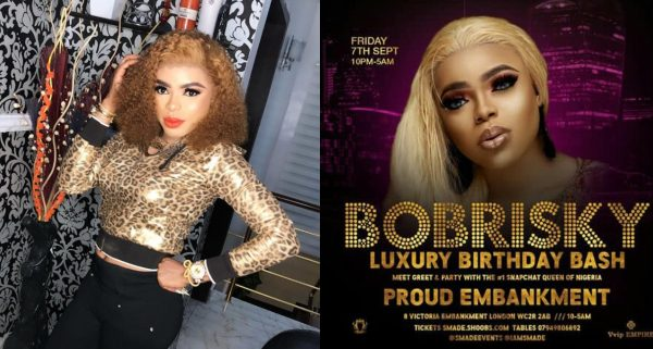 """I Came Home Voluntarily to Get the Right U.K. Visa"" – Bobrisky Says He did not Get Deported"