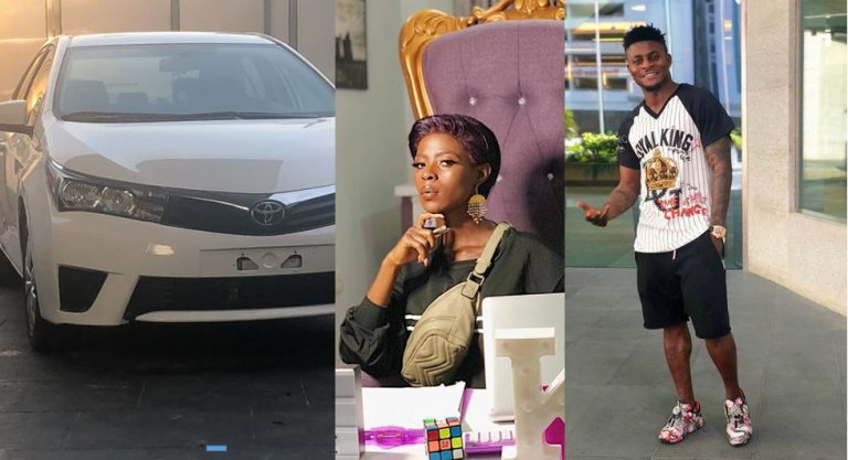 Obafemi Martins Surprises Khloe With A Brand New Car As Gift! (Photos)