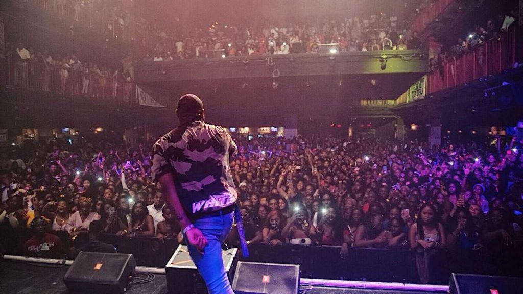 Davido Sells Out Concert At House of Blues Arena in Boston, US