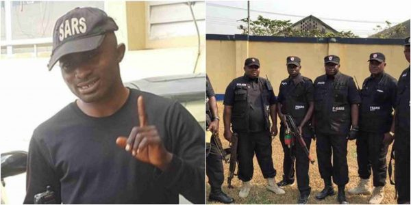 Fake SARS officer, Tijani Omeka arrested in Abuja (Photo)
