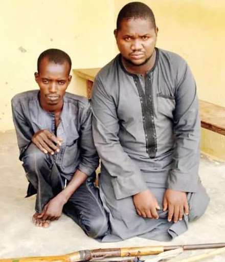 'Allah Destined Us To be Arrested'- Says Armed Robbers Arrested for Robbery in Niger (photos)