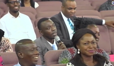 We Found Patrick Obahiagbon's Brother In The Church (Must Watch Video)