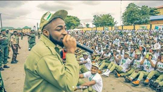 Davido Cancels Tour Due To NYSC Commitments (See Details)