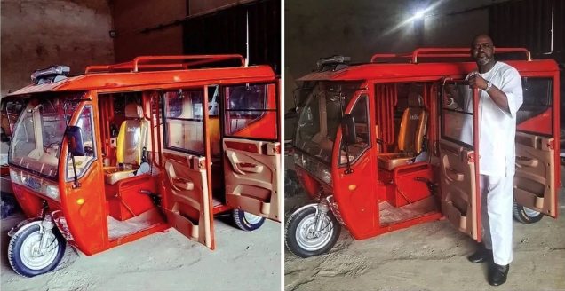 Amazing Photos Of New Tricycles (Keke Napep) Reportedly Made In Nigeria