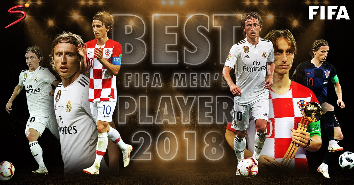 Luka Modrić Wins 2018 Best FIFA Men's Player of The Year Award
