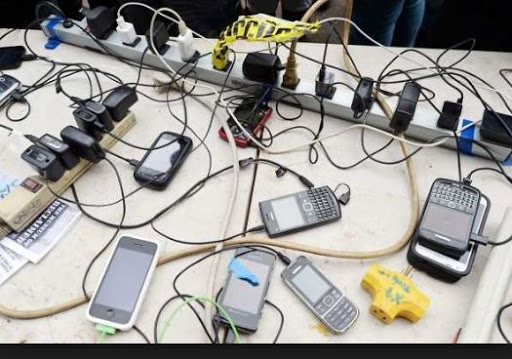 Meet The Man That Makes N180k Monthly From Phone Charging In Lafia