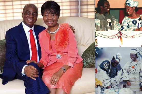 6 amazing throwback photos of David Oyedepo and his wife Faith
