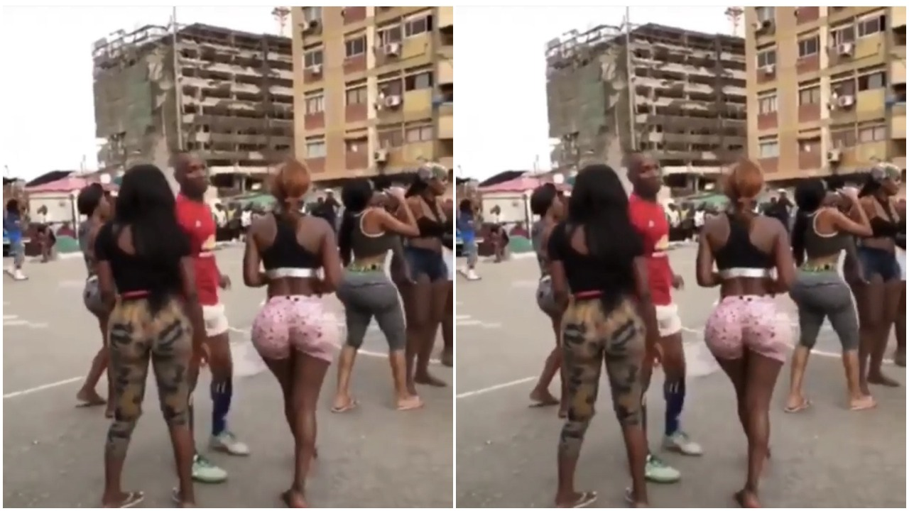 Slay Queens Show Off Their Fake Big Backside