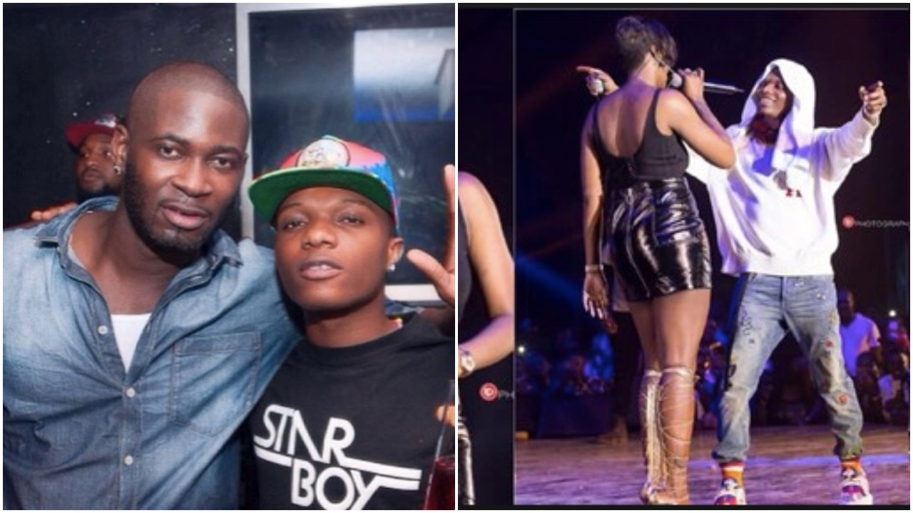 Finally, Teebillz Opens Up On Tiwa Savage & Wizkid Dating Rumour As He Strikes A Pose With Wizkid