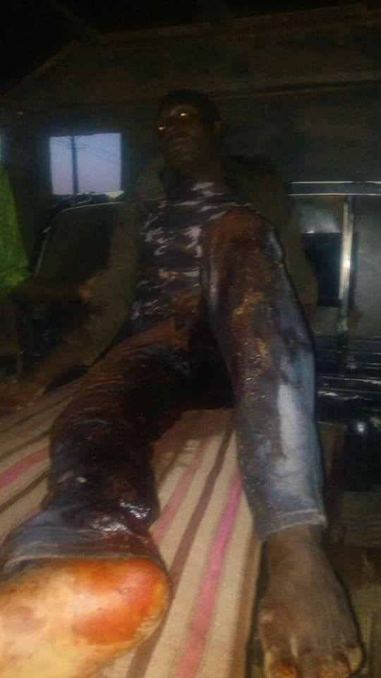 Graphic Photos Of Policemen And Civilian Killed By Gunmen In Kaduna