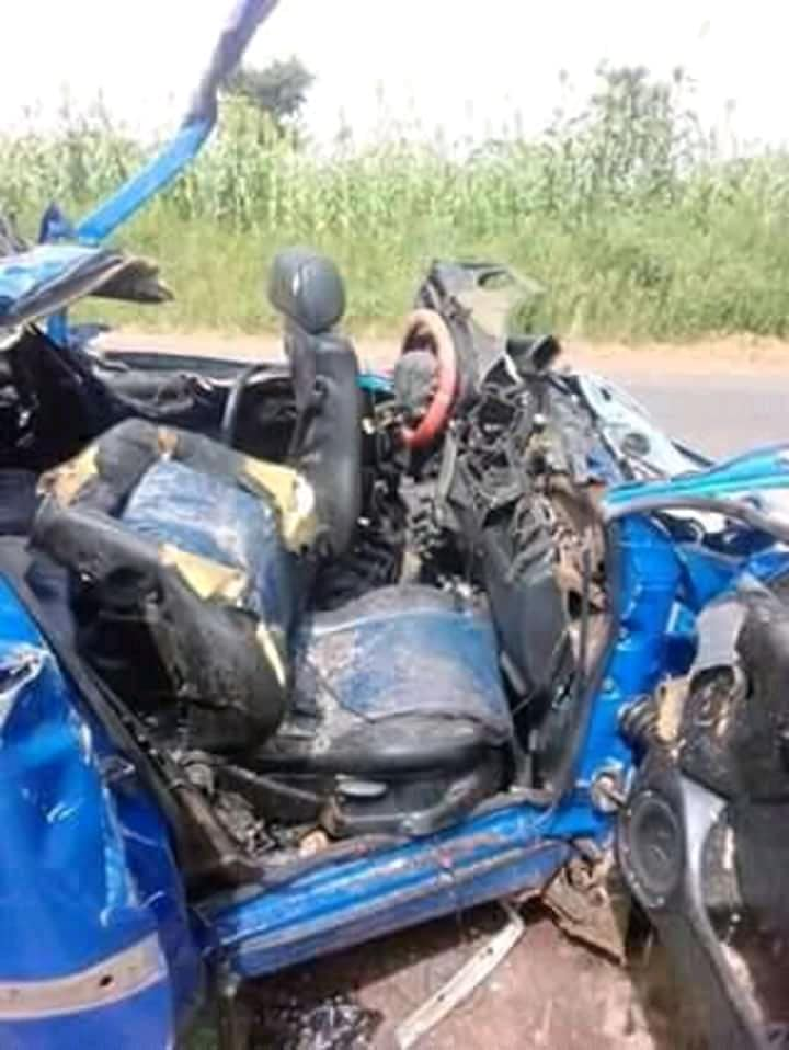 6 Passengers Killed After Vehicle Collided With A Truck In Katsina