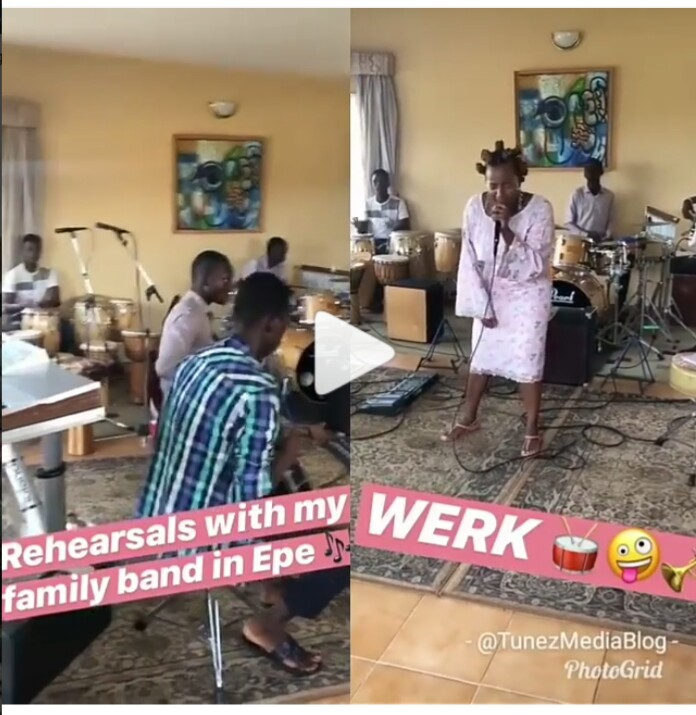 DJ Cuppy Collabos With Her Village People To Promote Her New Song, Werk