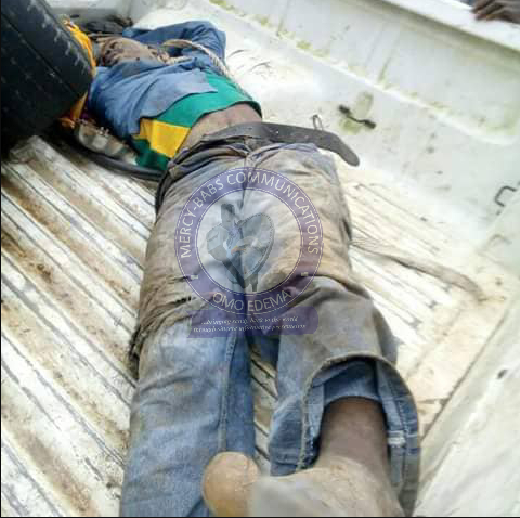 Passenger Kills Motorcyclist, Buries His Corpse In A Grave
