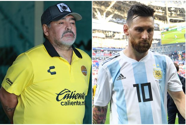 Diego Maradona Blasts Messi, Says He Goes To Toilet 20 Times Before A Match
