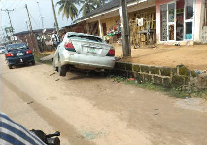 Driver Bashes Another Vehicle After Getting Drunk In Delta