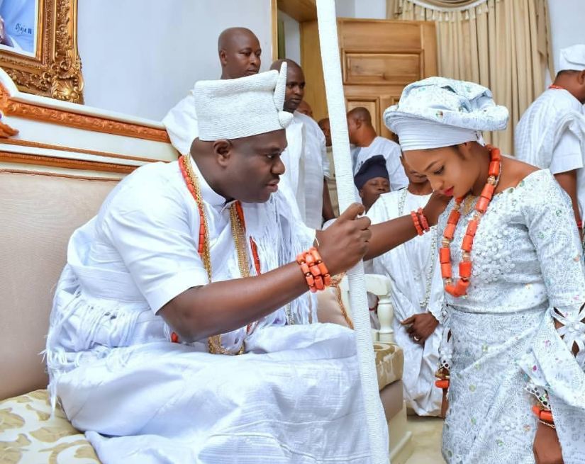 Image result for Ooni of ife new wife