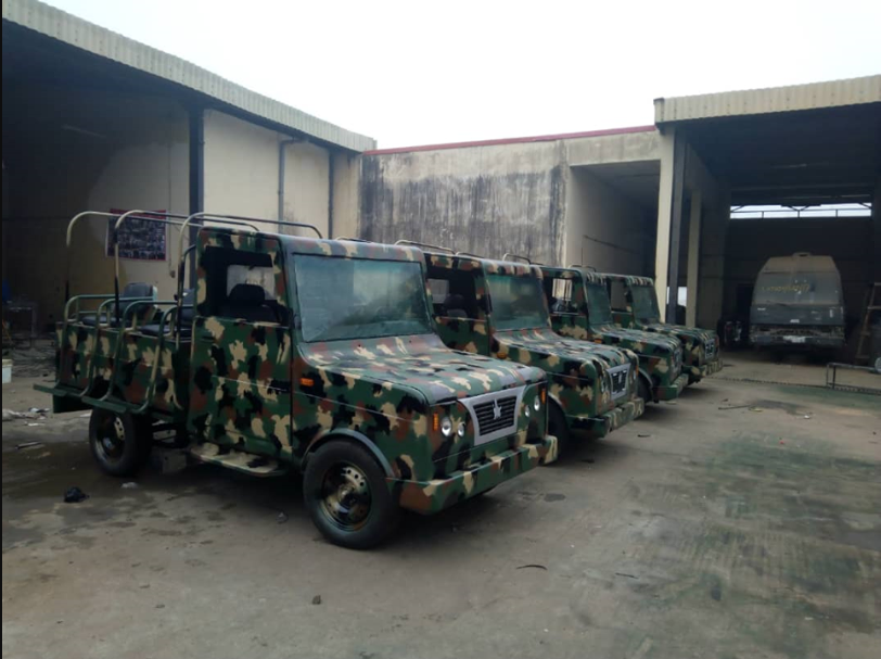 See First Nigerian Army Combat Patrol Vehicle Set To Be