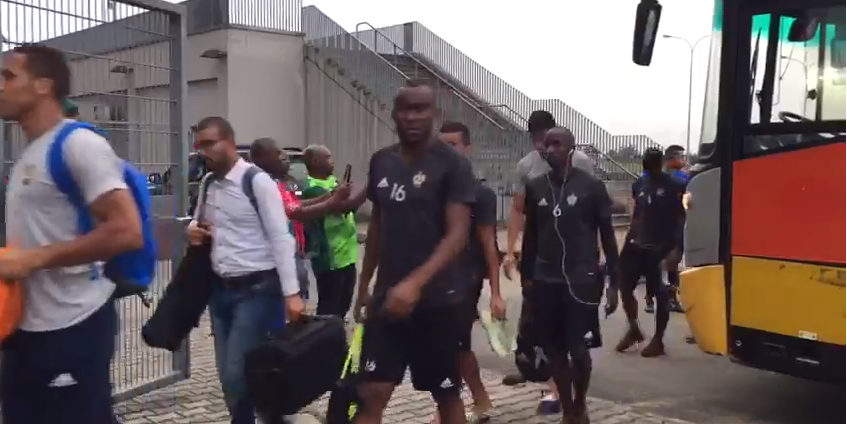 Libya Team Arrive Uyo Stadium After Rejecting Hotel Provided By NFF