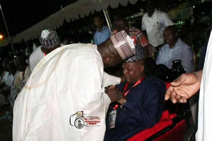 Governor Weeps In Public After This Happened During APC Election